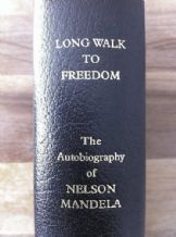 Nelson Mandela Autograph Signed Long Walk To Freedom